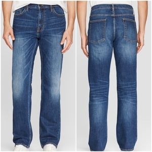 Men's Goodfellow Slim Straight Distressed Jeans